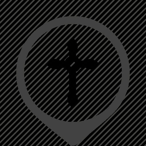 belief, christian, creed, cross, faith, religion icon