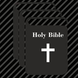 bible, boobs, collection, holy, religion icon
