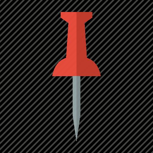 map, marker, office, pin, push, tack, thumbtack icon