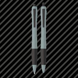 ballpoint, draw, ink, office, pen, write, writing icon