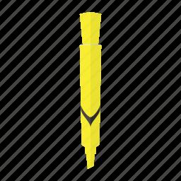 felt, highlight, highlighter, marker, neon, office, pen icon