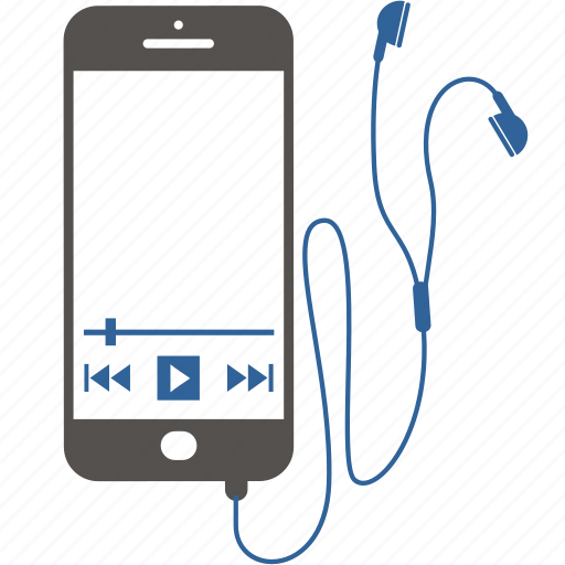 application, internet, mobile, music, phone, smartphone, software icon