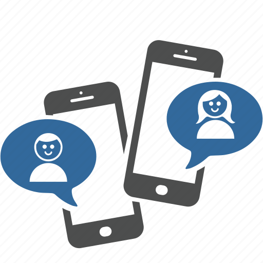 Dialog, love, man, media, smartphone, social, woman icon - Download on Iconfinder