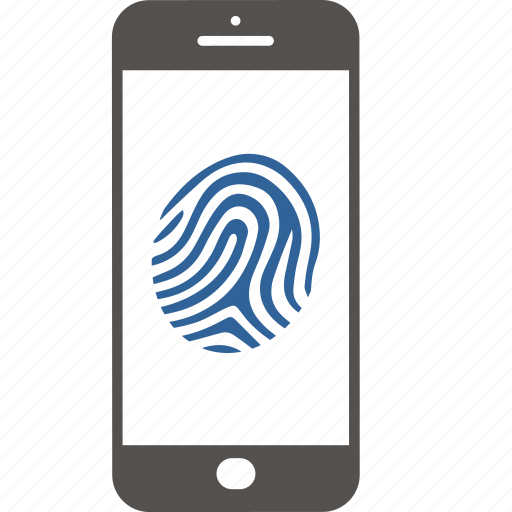 Authentication, authorizationt, digital, fingerprint, identification, security, smartphone icon - Download on Iconfinder