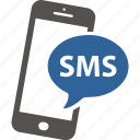 dialog, media, message, phone, smart, sms, talk icon