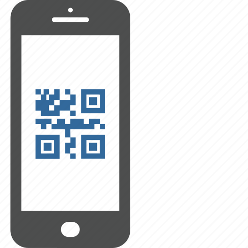 bar, code, mobile, qr, reader, smartphone icon