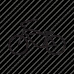 bicycle, cruiser, low rider, low rider bike icon