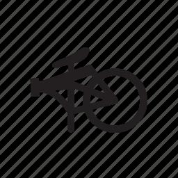 bicycle, folding bike icon