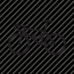 bicycle, race bike, roadbike icon