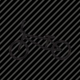 bicycle, bmx, bmx bike, bmx street icon
