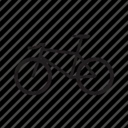 bicycle, fixed bike, fixie, fixie bike, race bike, urban bike icon