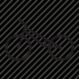 bicycle, freestyle bike, trick bike icon