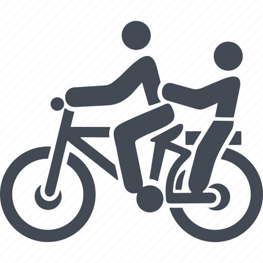 bicycle, bike, cycle, cyclists, sport, transport icon