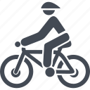 bicycle, cyclist, bike, cycle, sport, transport