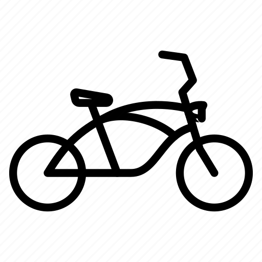 Bicycle, bike, cycle, low rider, transport icon - Download on Iconfinder