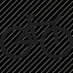 bicycle, bike, design, sport icon