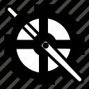 bicycle, crank, drivetrain, gear, motion, parts icon
