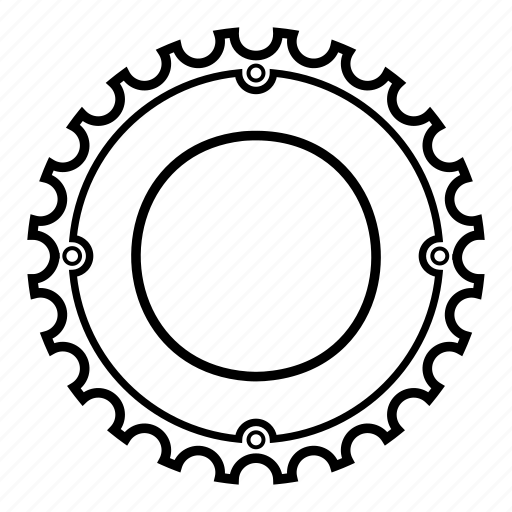 Bicycle, bike, components, cycling, hainrings, parts icon - Download on Iconfinder