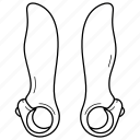 bar, bicycle, bike, carbon, ends, fiber, handlebar