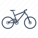 allmountain, bicycle, bike, cycle, cycling, sport icon