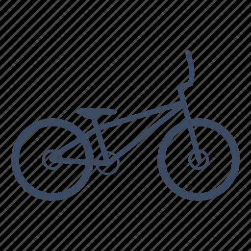 bicycle, bike, bmx, cycle, cycling, sport icon