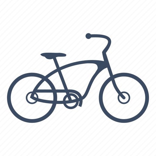 bicycle, bike, cruiser, cycle, cycling, sport icon