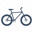 bicycle, bike, cycle, cycling, fatbike, sport icon