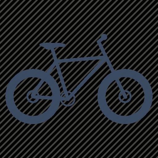 bicycle, bike, cycle, cycling, fatbike, sport icon