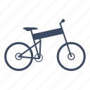 bicycle, bike, cycle, cycling, folding, sport icon