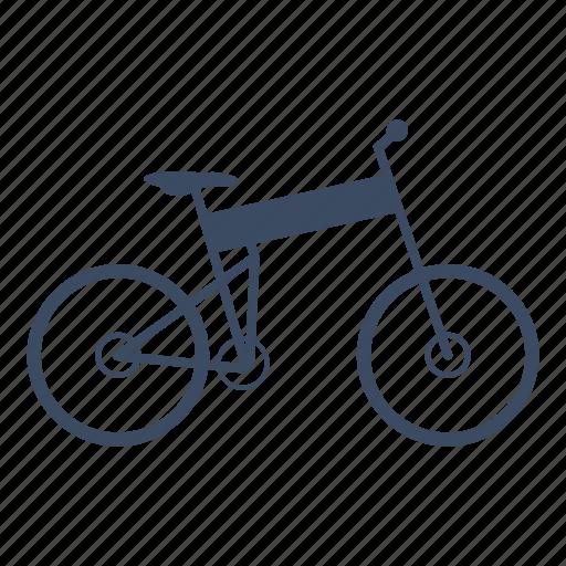 bicycle, bike, cycle, cycling, folding, sport icon