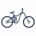 bicycle, bike, cycle, cycling, freeride, sport icon