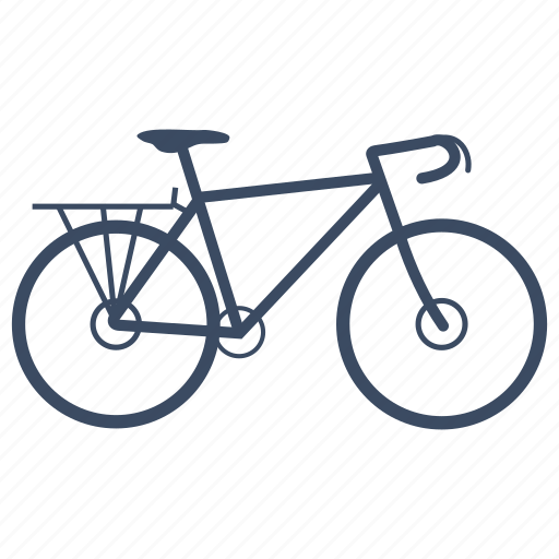 bicycle, bike, cycle, cycling, sport, touring icon