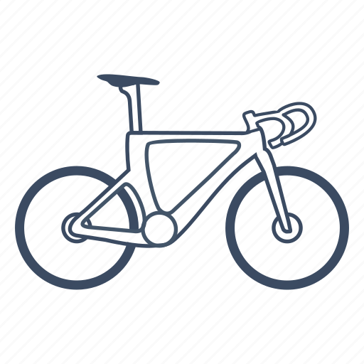 bicycle, bike, cycle, cycling, sport, track, transport icon