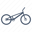 bicycle, bike, cycle, cycling, sport, sports, trial icon