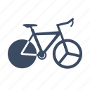 bicycle, bike, cycle, cycling, sport, triathlon icon