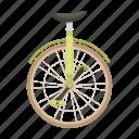 bicycle, bike, eco, transportation, unicycle, vehicle icon