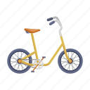 bicycle, bike, children, eco, transportation, vehicle icon