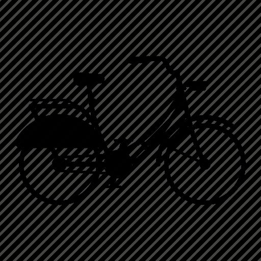 bicycle, bike, city, citybike, cyclist icon