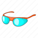 cartoon, glasses, goggles, sport, sun, sunglasses, travel icon