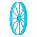 bicycle, bike, cartoon, illustration, sport, tyre, wheel icon