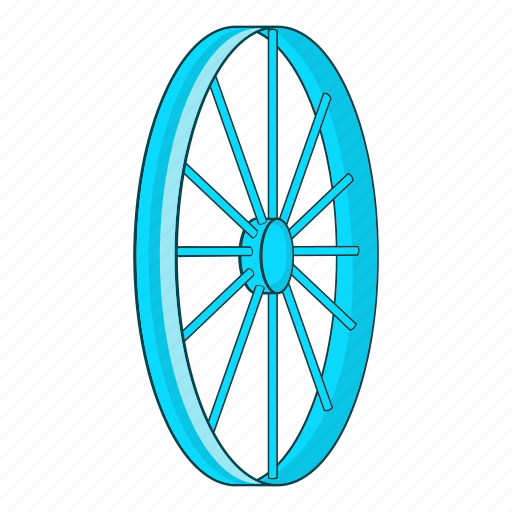 Bicycle, bike, cartoon, illustration, sport, tyre, wheel icon - Download on Iconfinder