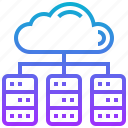 cloud, data, center, database