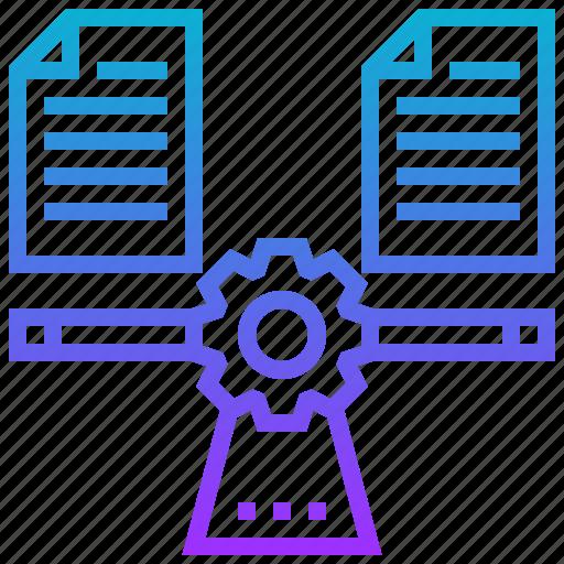 balancing, data, file, load icon
