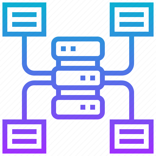 analysis, data, database, file, source icon