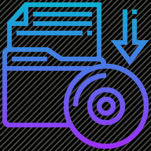 data, device, file, storage icon