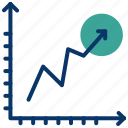 chart, data analytics, evaluation, seo, statistics, utilization data icon