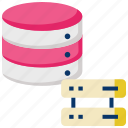 big data, data exchange, data source, database, database server, distributed computing icon