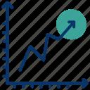chart, data analytics, evaluation, seo, statistics, utilization data icon