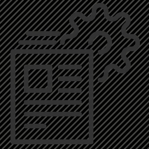 big, config, data, files, generate, massive, working icon