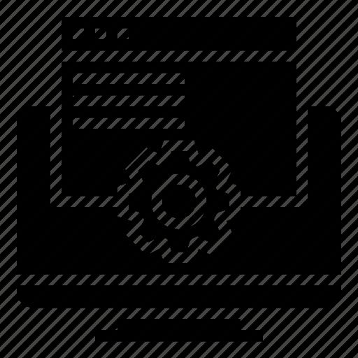 computer, data, programming, website icon